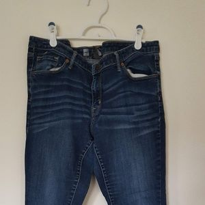 Mossimo Jeans Size 14 Long Modern Skinny